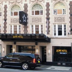 ACME Hotel Company Chicago—Chicago, Illinois. Checking this hotel off my travel list next month!
