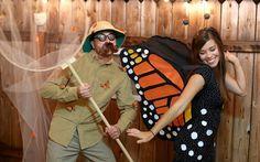 Inspiration, alle Accessoires und eine Schmink-Anleitung, damit du dein Schmetterling Kostüm selber machen kannst.