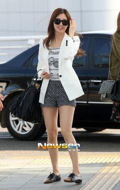 Seohyun : 130329 Incheon Airport #WelcomeSNSDtoThailand
