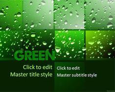 Green PPT Template