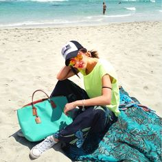 Formentera Rigatoni beach with Niloofar and Robertina Basic Mint Seafoam www.robertapieri.com