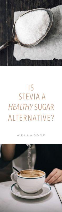 Is Stevia a healthy sugar alternative?