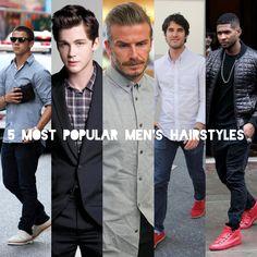 Gentlemen, here's 5 most popular men's hairstyles. Apakah potongan rambut termasuk yang populer guys?