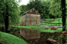 Rock Run Grist Mill in the Susquehanna State Park near Havre de Grace, Maryland; photo by Adam Rybczynski