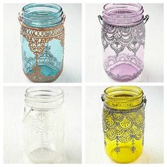Shy Girl Loud Voice: DIY Mason Jar Lantern