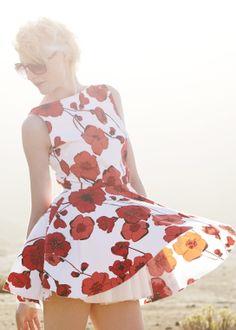poppy dress <3