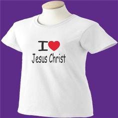 I Love Jesus Christ T-Shirt - www.scottystees.com