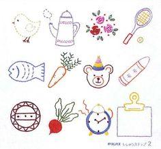 オリムパス製絲 フランスししゅうキット/基本縫ししゅうステップ・2:Amazon.co.jp:おもちゃ
