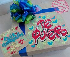 Diy Gift Box, Jesus Loves Me, Ideas Para, Wraps, Lettering, Creative, Gifts, Decorated Gift Bags, Presents