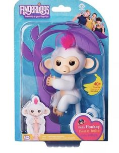 New In Box Other Interactive Toys Electronic & Interactive Hearty Authentic Fingerlings Set Of 4