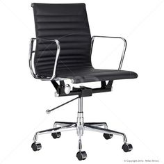 Management Office Chair - Eames Reproduction - Black - Classic