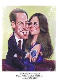 Prince William, Duke of Cambridge and Catherine Middleton