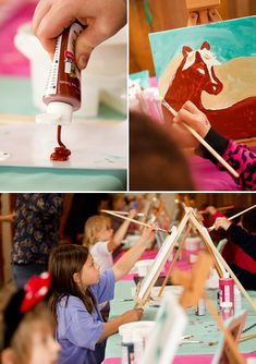 Horse Themed Birthday Party | Pink & Teal Horse Themed Birthday Party // Hostess with the Mostess®