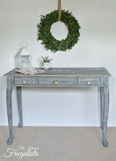 Queen Anne Desk Make