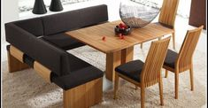 Dining Bench, Table, Furniture, Home Decor, Dining Room Modern, Timber Wood, Essen, German, Brown