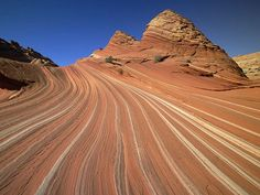 Treasures Of The Earth: Worldwide Natural Landscapes Photography (Vol.02)  - Sandstone Patterns of Petrified Sand Dunes Near Paria River Colorado Plateau Utah 35