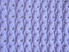 Lilac Blossom Baby Blanket