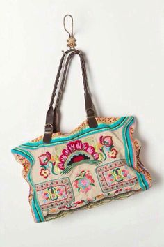 Bright and colourful bag.