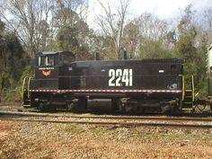 Conecuh Valley RR (formerly Sou.Alabama RR)   Description:    Photo Date:  2/15/2003  Location:  Troy, AL   Author:  Ken Roble  Categories:    Locomotives:  COEH 2241(SW1500)