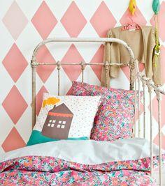 cute wallpaper | kid's bedroom #decor #quartoinfantil