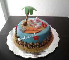 Beach cake Pastel de playa