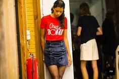 J'ai Perdu Ma Veste / Ganni Spring Summer 2017 backstage  // #Fashion, #FashionBlog, #FashionBlogger, #Ootd, #OutfitOfTheDay, #StreetStyle, #Style