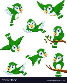 ideas green bird cartoon for 2019 Bird Tattoos Arm, Bird Tattoo Back, Bird Drawings, Animal Drawings, Golf Quilt, Big Bird Cage, Bird Doodle, Diy Wings, Diy Bird Bath