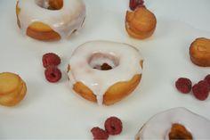 Berlinas clásicas. También conocidas como rosquillas o donuts. Receta paso a paso en el blog de La guinda Florinda.