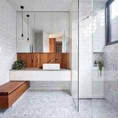 Modern Scandinavian Bathroom Interior In White - Interior Design Ideas & Home Decorating Inspiration - moercar Bathroom Modern Scandinavian Bathroom Interior In White Laundry In Bathroom, Bathroom Renos, Bathroom Renovations, Master Bathroom, Small Laundry, Bathroom Storage, Bathroom Grey, Remodel Bathroom, Bathroom Ideas