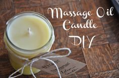 Massage Oil Candle Valentines DIY | Emma Will - YouTube