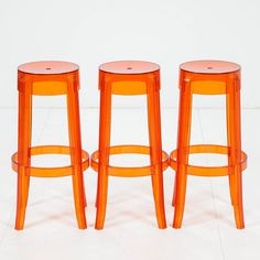 Philippe Starck, CHARLES GHOST BY KARTELL WITH STARCK. Philippe Starck, Bar Stools, Architects, Designers, Furniture, Home Decor, Bar Stool Sports, Decoration Home, Room Decor