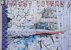 Art journaling by Linda Iswariah