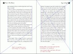 Waves Page Layout Using Tchichold's Canon