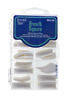 Terrific Tips French Square Tips White Acrylic Nail Supplies, Acrylic Nails, Sally Beauty, Nail Supply, Dip Powder, Artificial Nails, Square Nails, Powder Nails, Glue On Nails