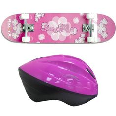 RazorX Sweet Pea Skateboard (31-Inch) with Razor V10 Youth Helmet Pink Bundle (Recommended Fit for Ages 8-14) . $49.00
