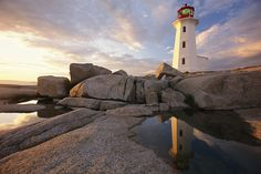 Famous Lighthouses | ... and the opportunity to view the famous lighthouses in Nova Scotia