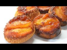 Mini torta invertida de manzana - YouTube