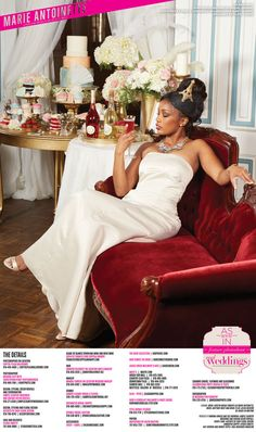 """From the """"Marie Antoinette"""" feature in the Summer/Fall 2015 issue of Real Weddings Magazine, Photography by Meagan Lucy with Christopher Kight Photographers © Real Weddings Magazine, www.realweddingsmag.com. For a full list of vendors on this styled shoot, and to see more photos, go to:  http://www.realweddingsmag.com/sacramento-wedding-inspiration-marie-antoinette-styled-shoot-blog-series-get-to-know-the-models/"""