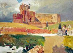 Joaquin Sorolla y Bastida - Castillo de la Mota, Medina del Campo