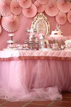 Pink Party aniversário da bailarina via Idéias do partido de Kara  . Kara'sPartyIdeas com # # Ballet PartyIdeas # Suprimentos # Girl # Pink (5)