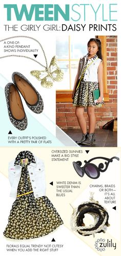 Be in the know. Get our tips on tween style trends. #zulily