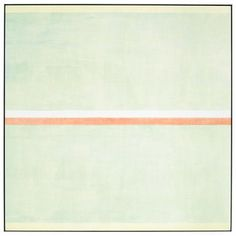 "Agnes Martin, ""Gratitude,"" 2001; acrylic & graphite on canvas, 60x60""  https://www.artexperiencenyc.com/social_login/?utm_source=pinterest_medium=pins_content=pinterest_pins_campaign=pinterest_initial"
