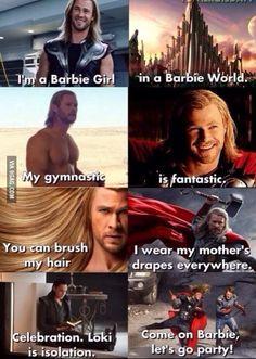 Thor – The Avengers – Chris Hemsworth