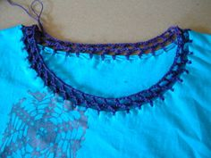 How to Add Crochet Trim to Any Fabric Edge - CraftStylish