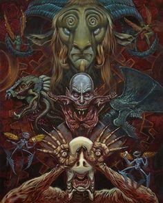 Augie Pagan - Los Monstruos de Del Toro