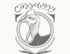 """Check out new work on my @Behance portfolio: """"The Cassowary""""…"""