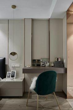 Dream House Interior, Home Interior Design, Closet Bedroom, Bedroom Decor, Dressing Table Design, Dressing Tables, Dresser Table, Suites, Apartment Interior