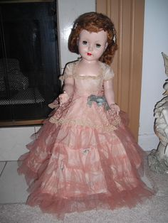 """Vintage 1950's Large 24"""" SWEET SUE Doll by American Character All Original EC!"""
