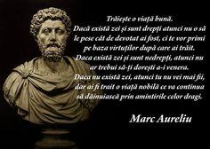 """""""Traieste o viata buna. Daca exista zei si sunt drepti atunci nu o sa le pese cat de devotat ai fost, ci te vor primi pe baza virtutilor dupa care ai trait. Daca exista zei si sunt nedrepti, atunci nu… (citeste mai mult)"""" #CitatImagine de Marc Aureliu Iti place acest #citat? ♥Distribuie♥ mai departe catre prietenii tai. #CitateImagini: #Viata #Credinta #Zei #Virtute #MarcAureliu #romania #quotes Vezi mai multe #citate pe http://citatemaxime.ro/"""