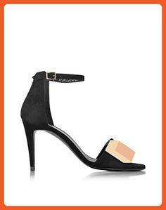 Pierre Hardy Women's Jq11 Black Suede Sandals - Sandals for women (*Amazon Partner-Link)